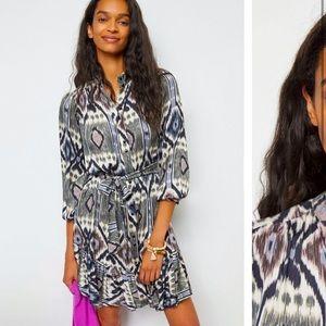 Anthropologie NWT Carita Tunic Dress Size LP.